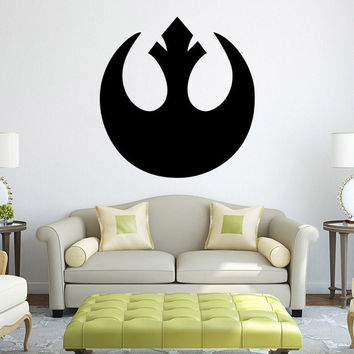 Stylish Star Wars Wall Sticker (57*59cm)
