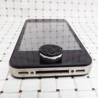 Black Chocolate Oreo Cake Cookie Biscuit Candy DIY by Polaris798
