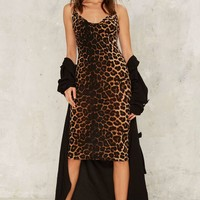 Cheetah Girls Midi Dress