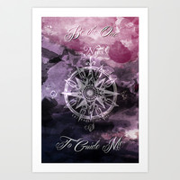 Be the One to Guide Me Art Print by Fallen Apple Designs