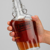 Glass Flask - Urban Outfitters