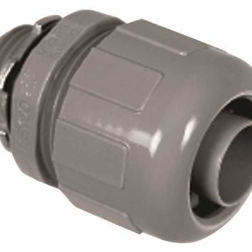 Proplus® Non-metallic Liquid Tight Straight Connector, 1-2 In.