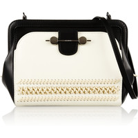 Jason Wu | Daphne two-tone leather shoulder bag  | NET-A-PORTER.COM