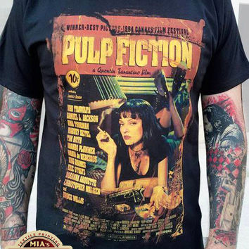Pulp Fiction Vintage Style T-Shirt