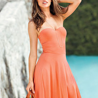 The Push-up Strapless Dress - Victoria's Secret