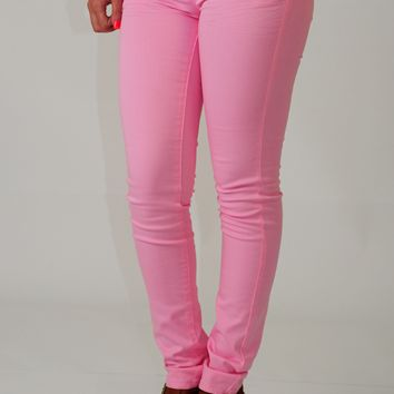 Flirty Little Secrets Pants: Bubblegum Pink