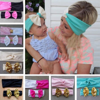Mommy and Me Darling Headband Set.