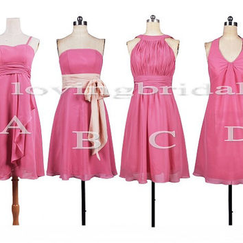 Short Bridesmaid Dresses Formal Party Evening Dresses Prom Dresses Cocktail Dresses Wedding Events