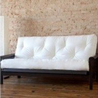 Full or Queen Size 6 Inch Futon Mattress Many Color to Choose From Made in USA