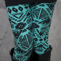 Egyptian Turquoise Leggings