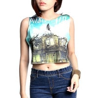 Pierce The Veil Shirt Tank Crop Top TShirts  Size S by HowDoiRock