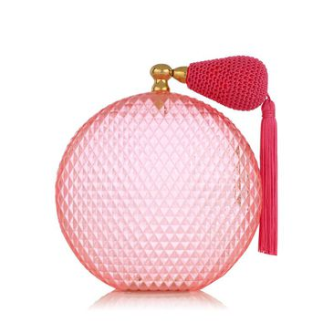 Charlotte Olympia New Women's Designer Clutch Bags | Charlotte Olympia - PINK SCENT