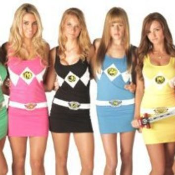 The Mighty Morphin Power Rangers Sexy Tunic Tank Dress