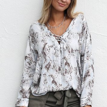 Always Together Long Sleeve Blouse