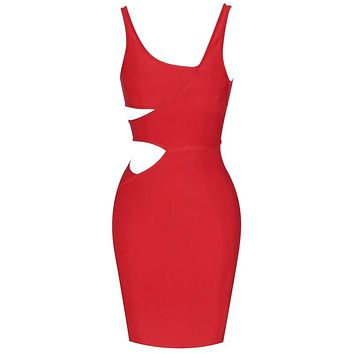Joyce- Bandage Bodycon Cut Out Dress