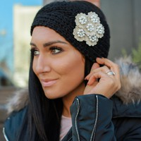 Lady Like Headband - Black