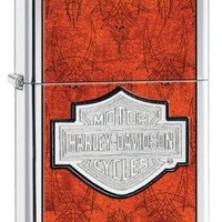 Zippo Harley-Davidson Bar and Shield Red Lighter