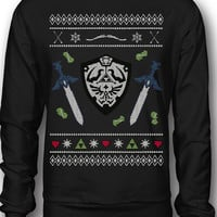 EXCLUSIVE Legend Of Zelda Ugly Christmas Sweatshirt!