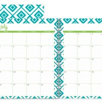 "Dabney Lee for Blue Sky ""Lucy"" Large Tabbed Weekly/Monthly Wire-O Planner"