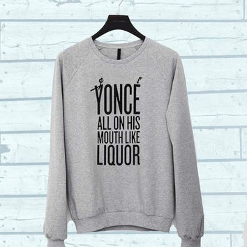 yonce sweater Sweatshirt Crewneck Men or Women Unisex Size