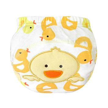VONEGQ Newborn Baby Panties Cloth Diaper Training Pants Diaper Cover Baby LABS Pants Nappies Hot