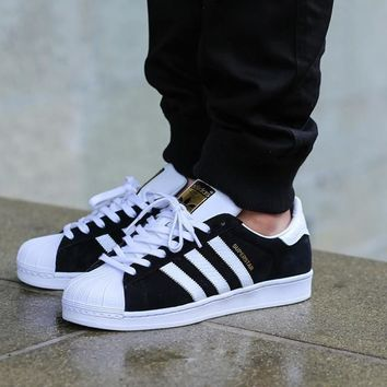 Adidas Superstar II ?€?Snake Pack?€? Black/White
