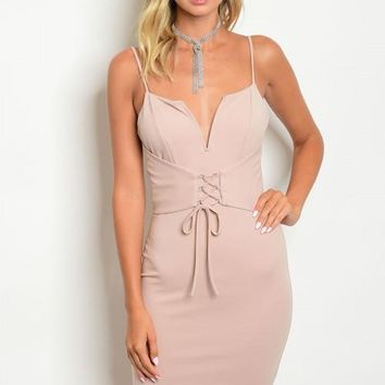 Mauve Corset Dress