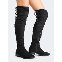 Padded Over The Knee Boot