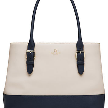 Kate Spade Cove Street Colorblock Airel Pebble/French Navy ONE