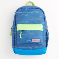 Neon Whaleline Backpack