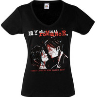 My Chemical Romance Life on the Murder Scene Girl's Tee