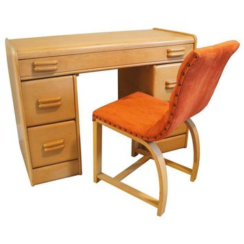 Pre-owned Rare Heywood-Wakefield Desk & Chair Set
