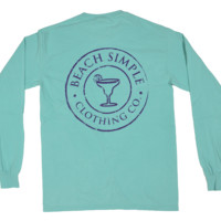 Classic Margarita Long Sleeve - Sea Breeze
