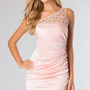 Short One Shoulder Prom Dress by Jump