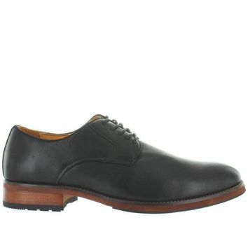 CREYONIG Florsheim Blaze Plain Ox - Black Leather Plain Toe Oxford