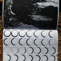 2015 black and white astrological 13-moon calendar