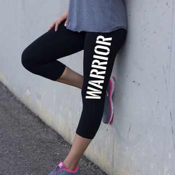 Warrior Capri Yoga Pants for Women
