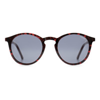 Aston Crafted Tortoise Red Sunglasses