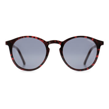 KOMONO Aston Crafted Series Sunglasses in Red Tortoise