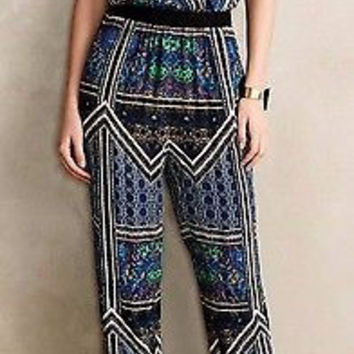 NWT Anthropologie Antora Cropped Jumpsuit Sz M - by Lilka
