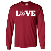 Love Firefighter - Long Sleeve T-Shirt