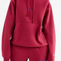 Champion & UO Novelty Logo Hoodie Sweatshirt | Urban Outfitters