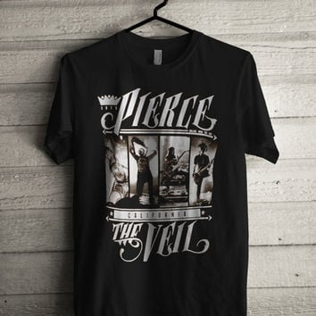 Pierce The Veil T-Shirt experimental rock Mike Fuentes Vic Fuentes Unisex Adult Men Women Shirt  Small to 2xL
