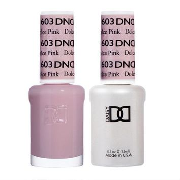 DND - Gel & Lacquer - Dolce Pink - #603