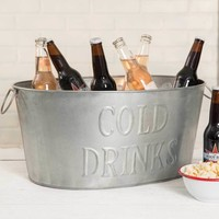 Oval Cold Drinks Tub