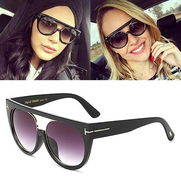 JackJad 2017 New Fashion Women Lady Cat Eye Style Sunglasses Gradient Popular Street Snap Sun Glasses UV400 Oculos De Sol 97260