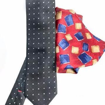 Pure Italian Silk Necktie and Pocket Square Set
