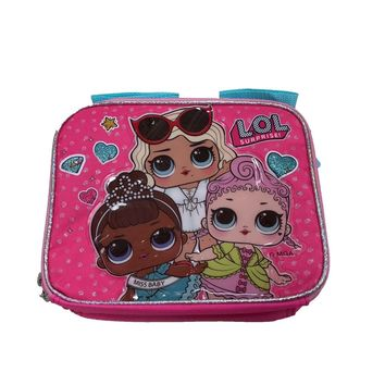 "LOL SURPRISE 9.5""ADJUSTABLE STRAP LUNCH BOX LUNCH BAG-BRAND NEW WITH TAGS!"