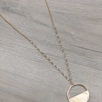 Best Half Moon Necklace Products on Wanelo 7874bc427d