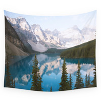 Society6 Lake Moraine Dos Wall Tapestry